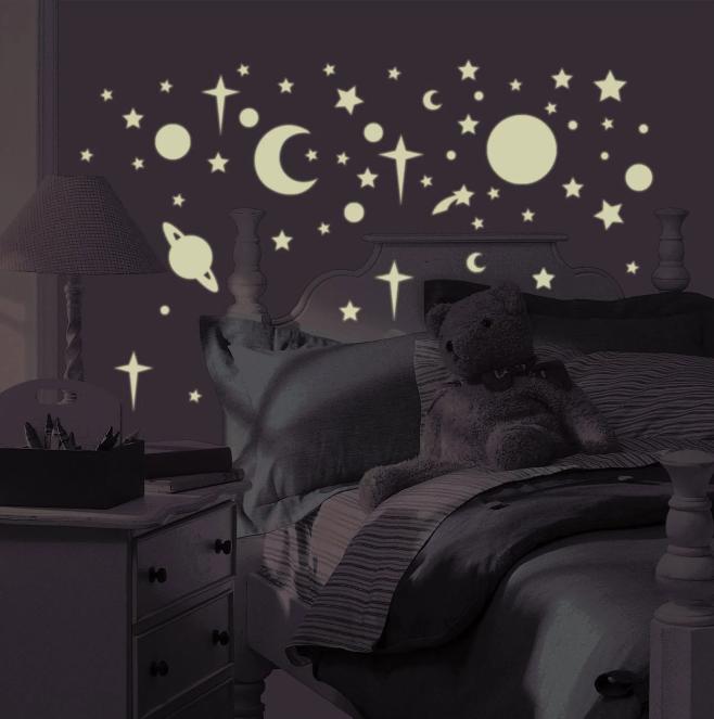 Autocollant étoiles