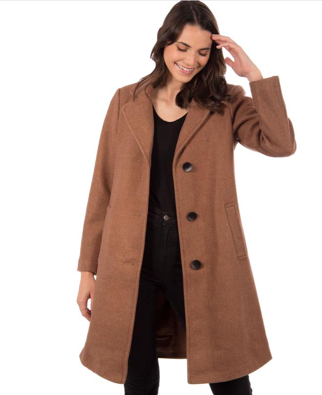 Manteau laine et polyester, Manteaux-Manteaux