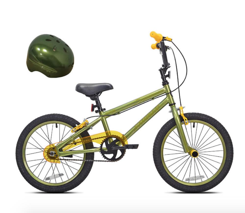 Un vélo et un casque