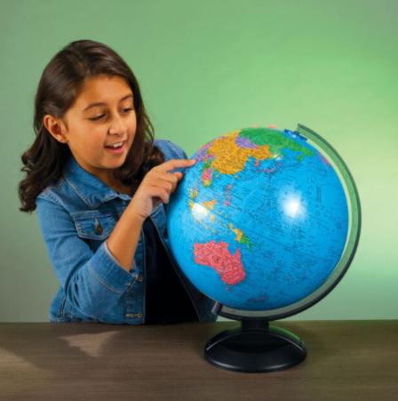 Un globe-terrestre