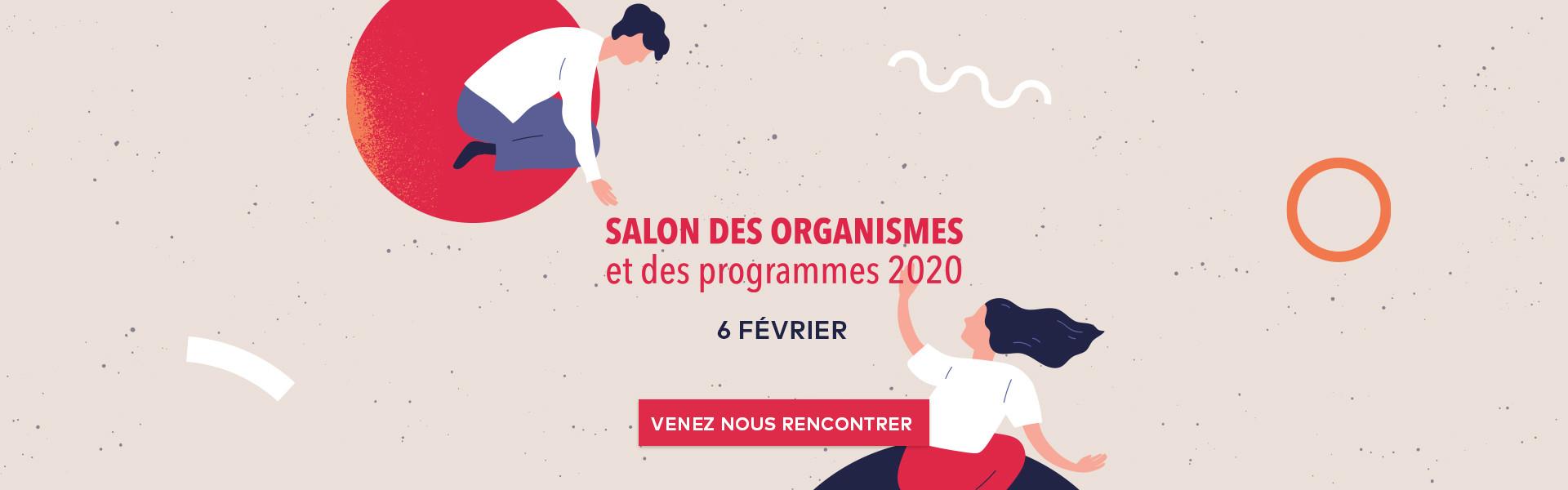 Salon des organismes et des programmes - Carrefour Frontenac