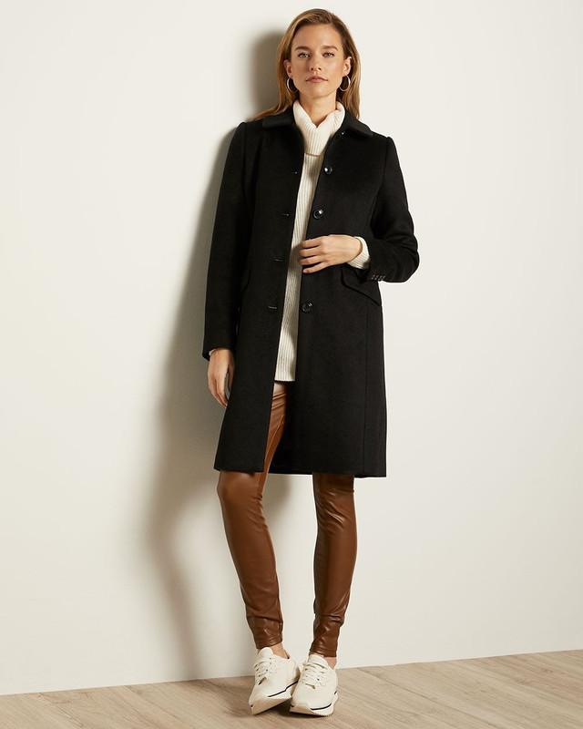 Manteau noir classique, RW&Co