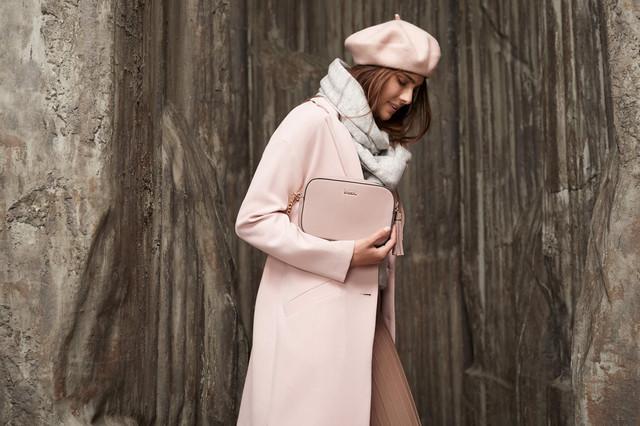 Béret rose pâle, Bizou accessoires